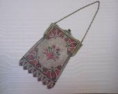 1920s MESH Purse ART DECO Handbag