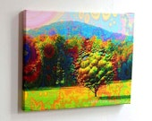 BUBBLE TREE...16X20 gallery wrap canvas