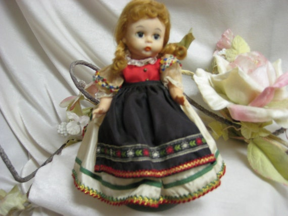 "8 "" Poland From The Madame Alexander Doll Company during the 1970's"