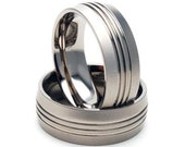 New Mens Titanium Jewelry, Wedding Band, Ring Sz 8, 9, 10, 11, 12, 13: 8HR3GXBHK