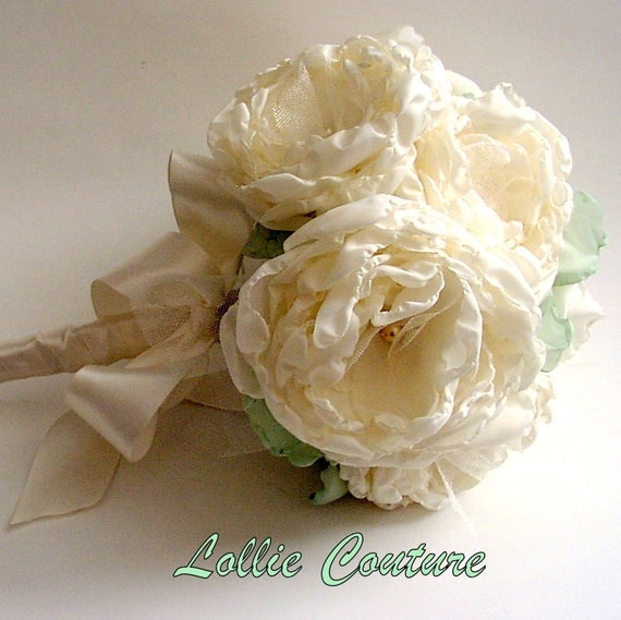 Love Song 2pc Fabric Bouquets