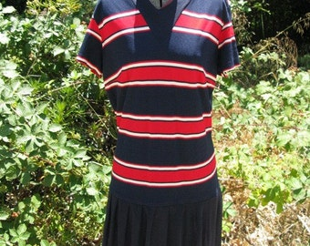 25% OFF SALE- Vintage 1960's Mod Mini Dress