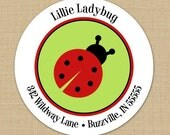Little Ladybug  - Custom Address Labels or Stickers