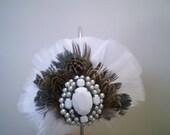 Pandora Feathered Headband