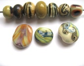 Ten Orphan Beads-----Reserved