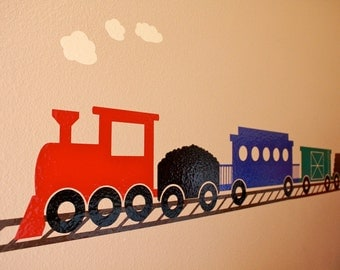 Choo Choo Train- Vinyl Wall Decal