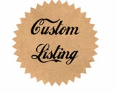 Custom Listing for Indeedgypsy - 2 Little Red Knit Bows
