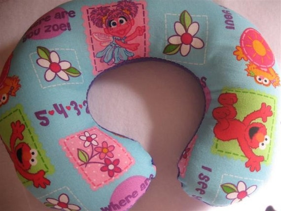 Abby Cadabby Elmo And Zoebaby Toddler Childrens Car Seat
