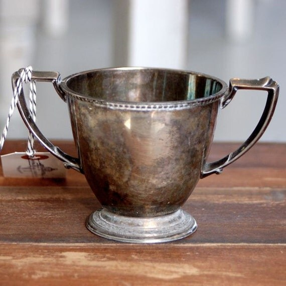 Vintage Silverplate Spooner or Sugar bowl