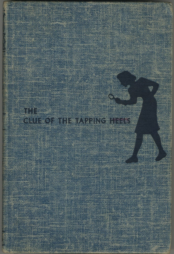 1950s Nancy Drew The Clue of the Tapping Heels