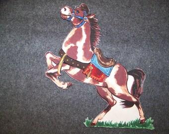 Fabric Paper Dolls-Horse