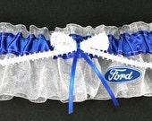 Ford Motor Company Keepsake Bridal Wedding Garter, Can be Personalized