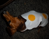 Eggs Over Easy Pet Costume