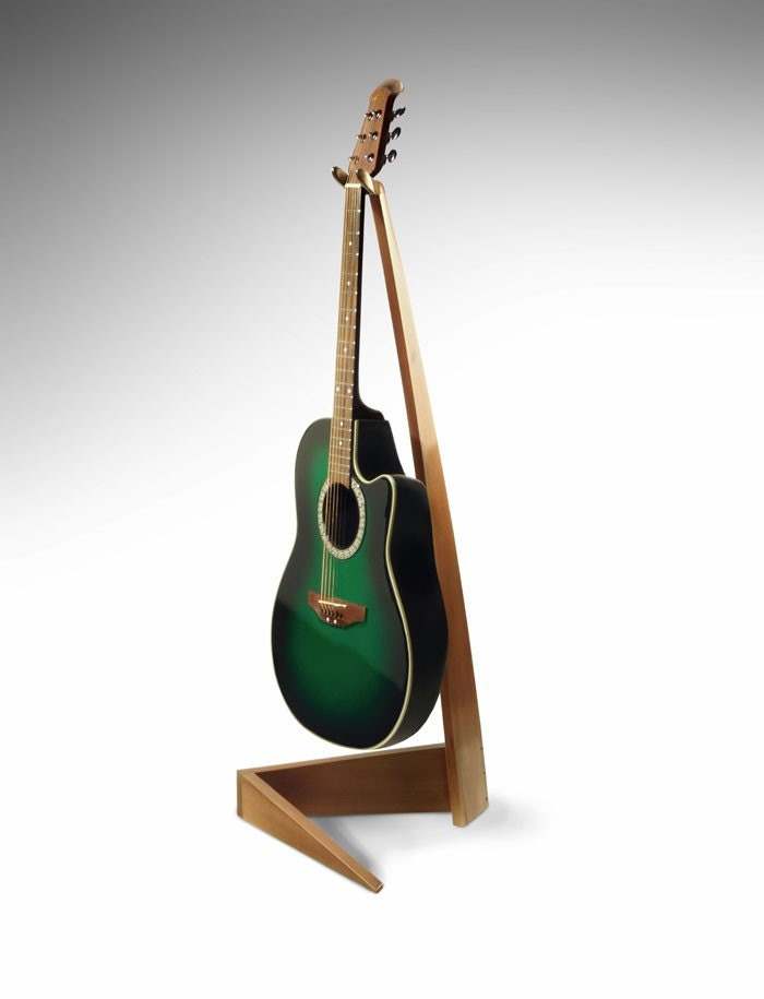 Guitar Stand Designs : Elegant maple guitar stand