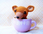 Amigurumi dog pattern - T cup Chihuahua - Crochet animal tutorial PDF