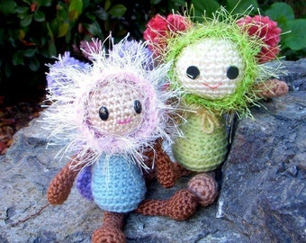 Butterfly Fairy - Crochet Amigurumi doll pattern / PDF