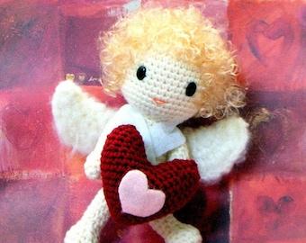 Amigurumi pattern - Lovely Cupid - Crochet amigurumi tutorial PDF