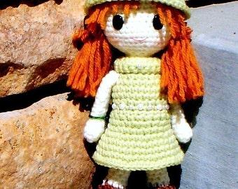 Amigurumi pattern - Jade - Crochet Amigurumi girl doll pattern / PDF