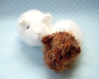 Crochet Amigurumi pattern - Guinea pig - Crochet animal tutorial PDF