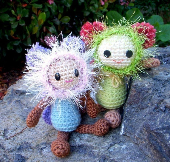 Amigurumi Fairy Pattern : Butterfly Fairy Crochet Amigurumi doll pattern / PDF by ...