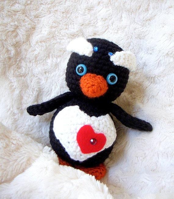 Crochet amigurumi pattern - Little Baby penguin - Amigurumi animal tutorial PDF