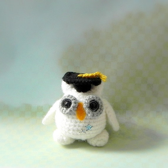 Crochet Pattern For Pikachu Doll : Crochet amigurumi pattern - Smarty Snow Owl - Amigurumi ...