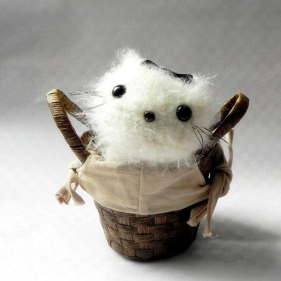 Amigurumi pattern - Kawaii kitty - Crochet amigurumi animal toy doll tutorial PDF