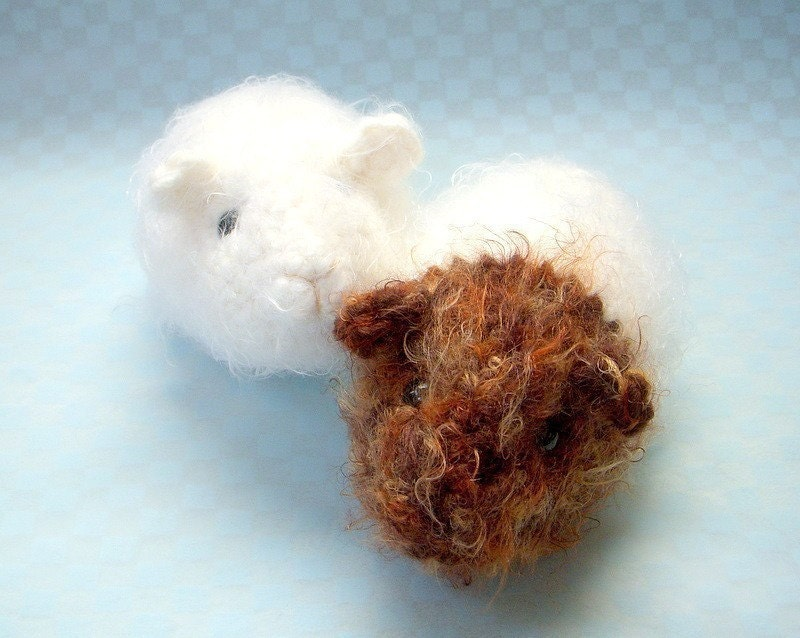 Amigurumi Baby Guinea Pig : Crochet Amigurumi pattern Guinea pig Crochet animal