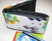 iPhone Wallet, Smart Phone Wallet, Slim Card Wallet, Flat Money Wallet in the Vintage Floral and Graphic Print