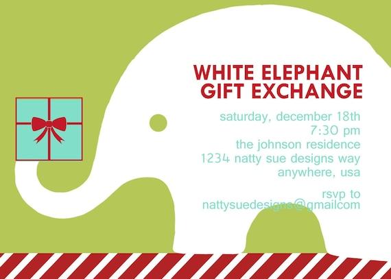 white elephant gift clipart free - photo #33