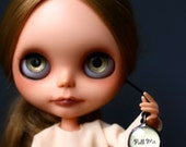 Blythe Handcrafted Artisan Vintage Style PULL ME Pull Charm