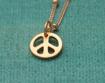 PEACE IS GOLDEN