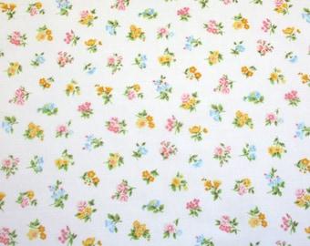 petite fleur, a vintage sheet fat quarter