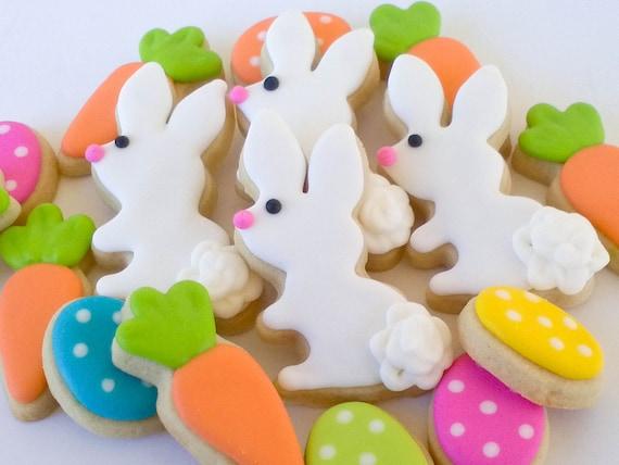 Easter Bunny Sugar Cookies-douzaine de 2,5