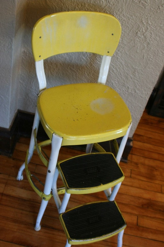 Cosco Step Stool Yellow And White
