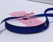 Blue Grosgrain Ribbon - 1/4 inch