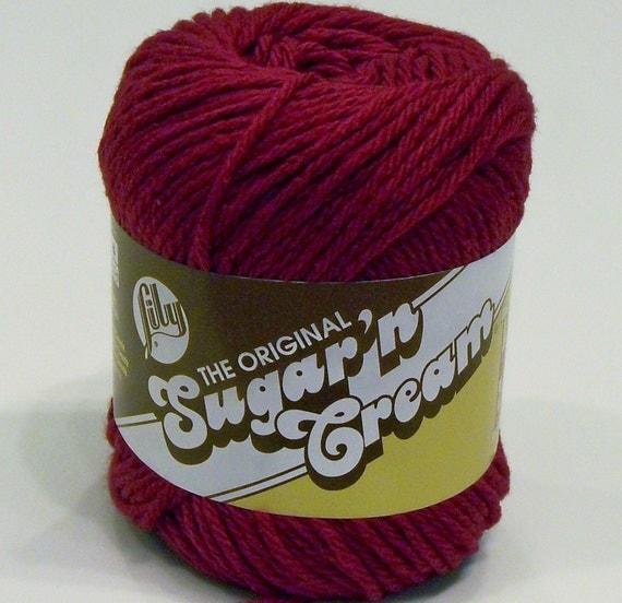 Wine Cotton Yarn - Sugar 'n Cream - Lily