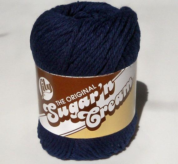 Cotton Yarn - Sugar n Cream - Bright Navy