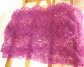 Knitted Cobweb - scarf
