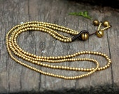 Simple Brass Chain Necklace