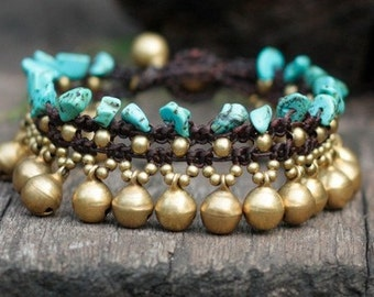 Turquoise Jasmine Bracelet