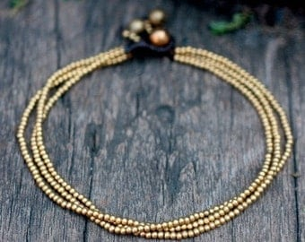 Brass Chain Anklet