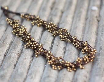 Brass Bind Necklace