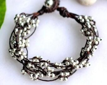 Silver Bind Bracelet