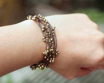 Brass Bind Bracelet