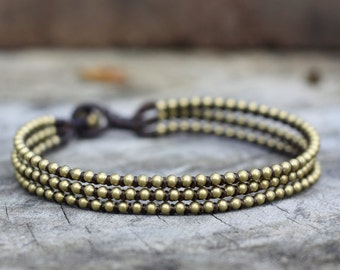 Chill Brass Anklet