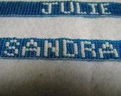 Woven Name Bracelet
