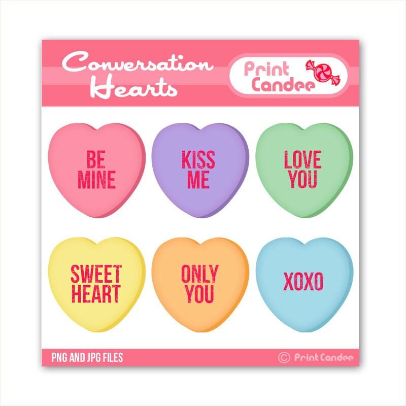 conversation hearts clip art valentine conversation hearts clip artValentine Candy Hearts Clip Art