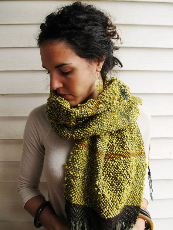 Sage-ful Woven Scarf