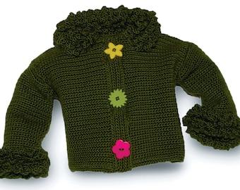 Baby Girl Crochet Pattern, Crochet Patterns for Girls, Women's Crochet Patterns